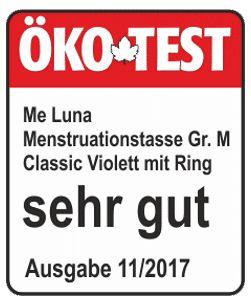 """ÖKO-TEST """"Sehr Gut"""" minősítést kapott a MeLuna egyik intimkelyhe"""
